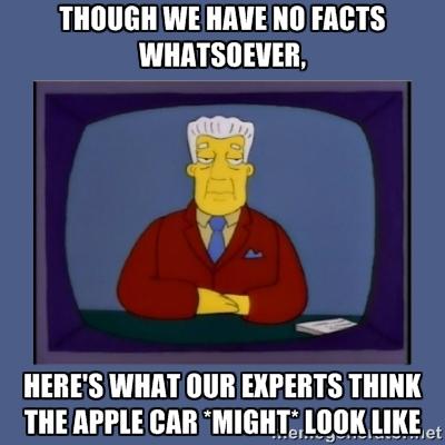 kent brockman apple car